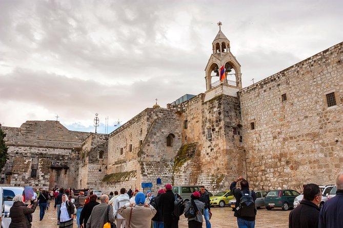 Jordan River (Qasr al Yahud), Bethlehem, Jericho & Dead Sea tour