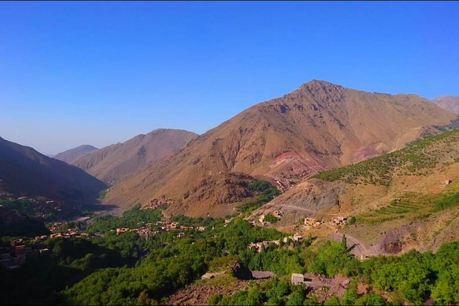 Atlas Mountains Day Trip from Marrakech & Camel ride & waterfalls &Three valleys