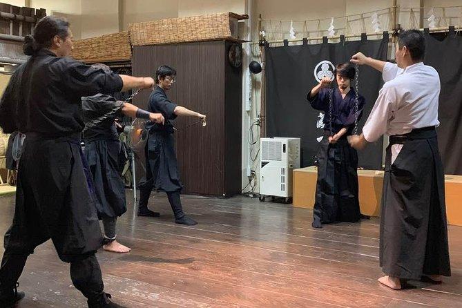2-Hour Ninja+Samurai Combined Immersion : Wear Ninja+Samurai Garbs (6 Techs)
