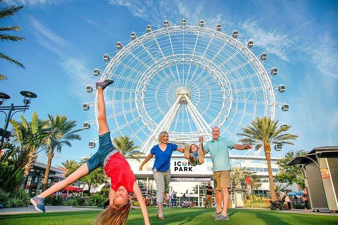 2 or 3-Attraction Pass: Wheel at ICON Park, Madame Tussauds & SeaLife Aquarium
