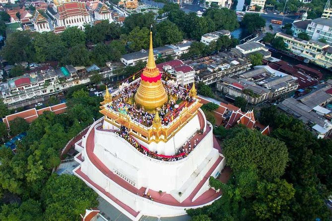 Bangkok Old Town City Tour with Wat Suthat, Wat Saket & Wat Ratchanadda