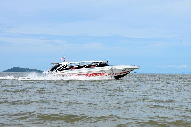 Railay Beach to Koh Yao Noi by Satun Pakbara Speed Boat