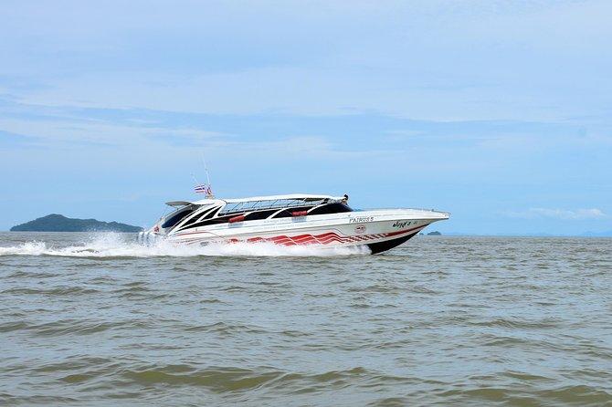 Railay Beach to Koh Lanta by Satun Pakbara Speed Boat