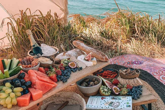 A picnic in Byron Bay