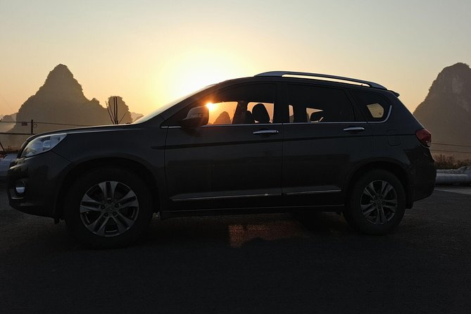 Private Transfer from Yangshuo hotel to Guilin hotel
