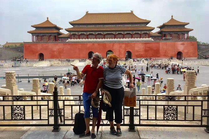 Beijing Capital Airport to Forbidden City Transfer Include Tickets