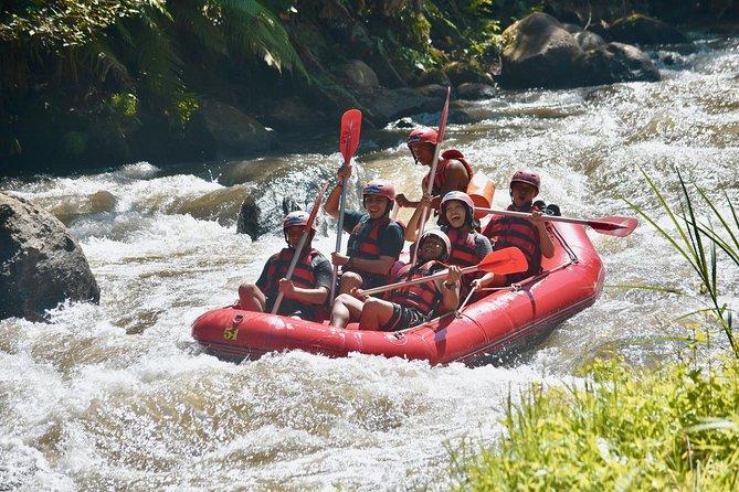Fun White Water Rafting Bali
