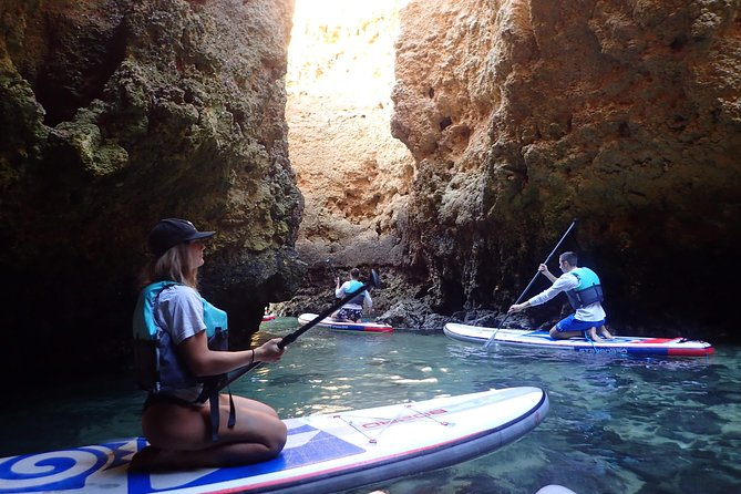 Stand Up Paddle Sunrise tour grottos in Lagos - pick up Lagos area photo 36