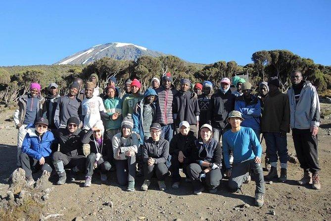 Kilimanjaro Climbing - 6 Day Machame Route