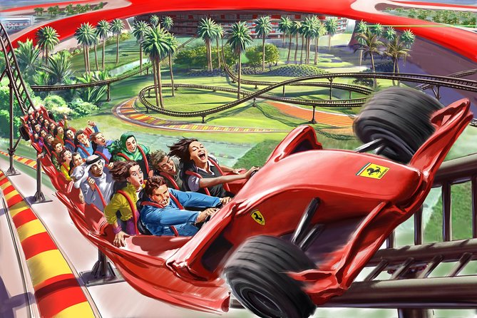 Abu Dhabi with Ferrari World Private Tour (Kid friendly )