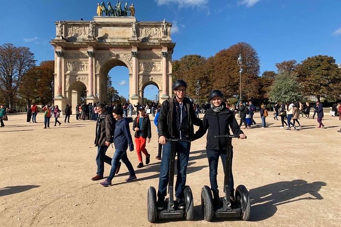 Paris City Sightseeing Half Day Guided Segway Tour with a Local Guide