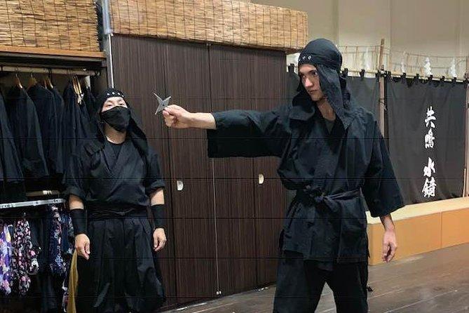 Einstündiger Crashkurs mit Ninja Star & Samurai Sword Basics.