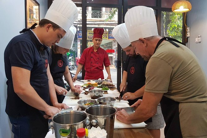 Hanoi Cooking Class: From the market to the table
