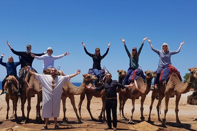 2 Hours Tour Cap spartel & Hercules caves with a Camel ride photo 12