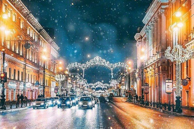 St Petersburg New Year and Christmas Excursion