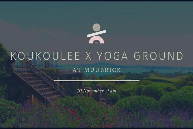 Yoga & Brunch at Mudbrick Vineyard