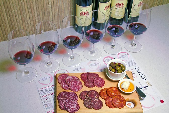 Tulloch Wines- Tasting of 6 Pokolbin Dry Red Shiraz Vintages with Charcuterie