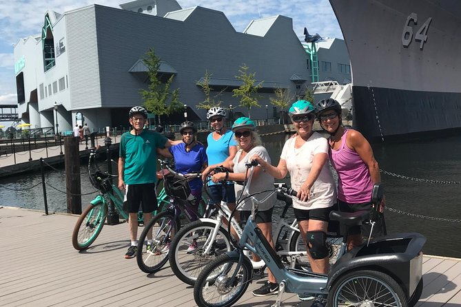 Self-Guided E-Bike Tour Elizabeth River Trail 2-Hour/3rd Hour Free