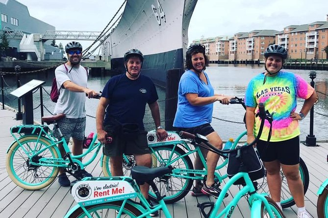 1/2 Day E-Bike Tour of Norfolk's History and Art