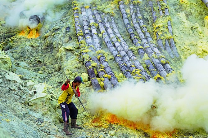 Mount Ijen Blue Flame Tour from Bali