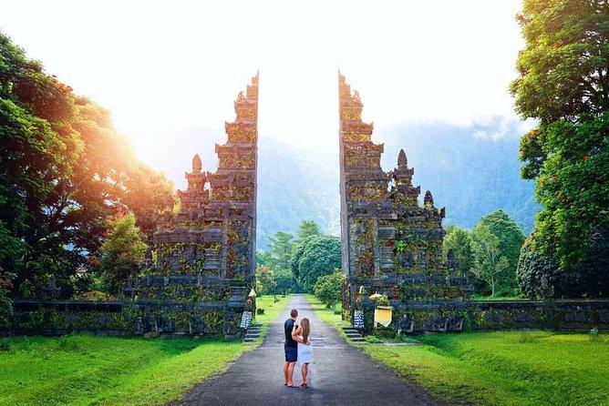 Bali Handara Gate and Wanagiri Hidden Hill with Banyumala Waterfall