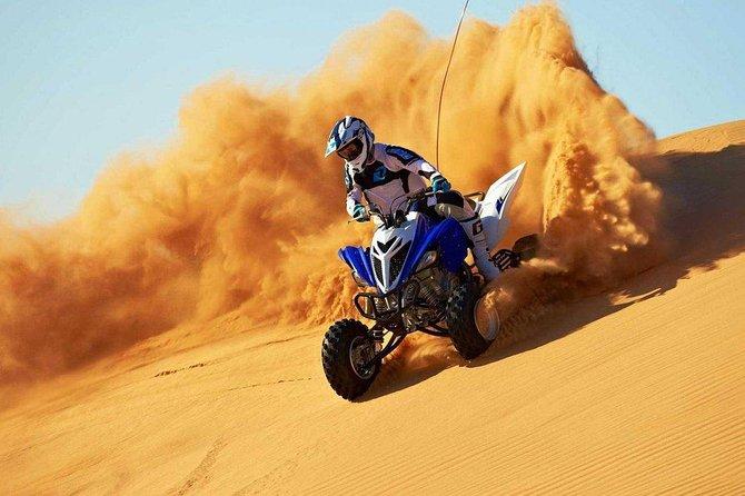 Quad Biking With Dune Bashing At Red Dunes