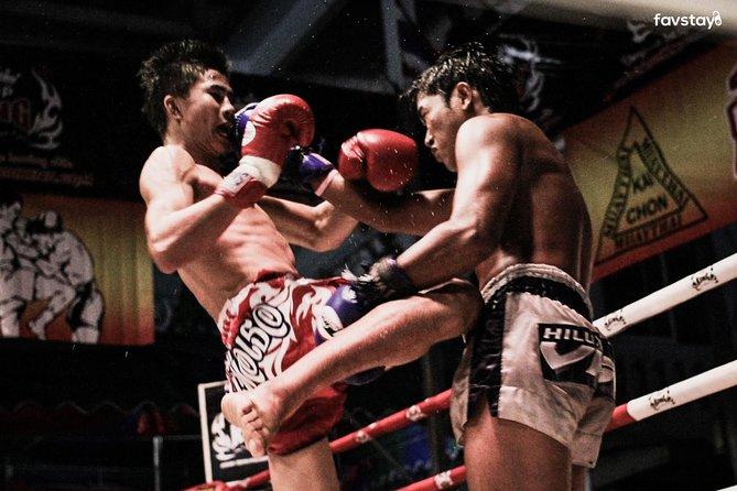 Skip the Line:Thai Boxing Match Ticket with Ringside Seat at Rajadamnern Stadium