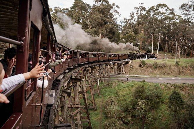 Excursion train journey - Belgrave to Lakeside return