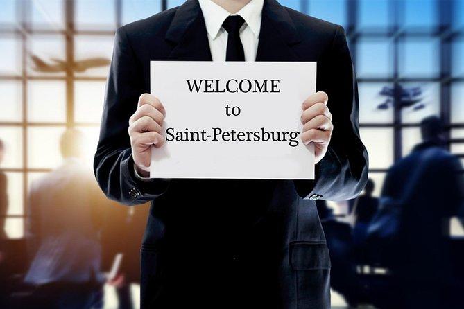Saint-Petersburg airport pulkovo arrival transfer