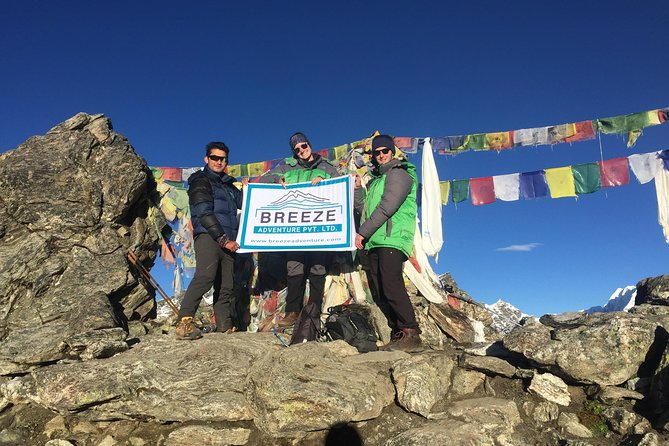 Gokyo Lakes And Renjola Pass Trek - 12 Days