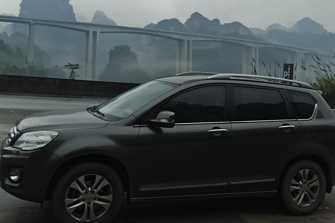 Private Transfer from Guilin hotel to Longsheng hotel