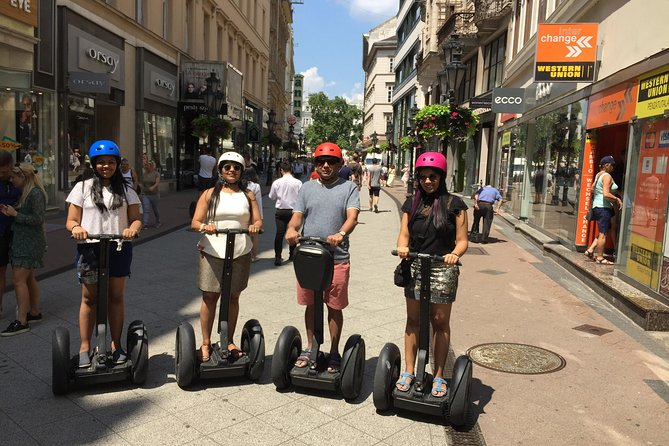 Grand Segway Tour of Budapest - Private Tour with Coffee Stop