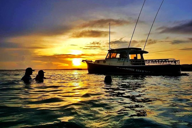 Private Sunset boat charter to Caracoles Key and Biobay Swimm at La Parguera