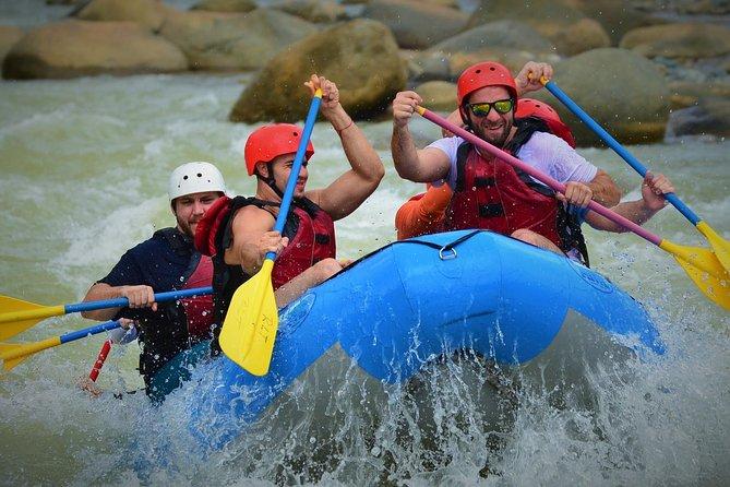 Naranjo River White Rafting Clas III-IV from Manuel Antonio