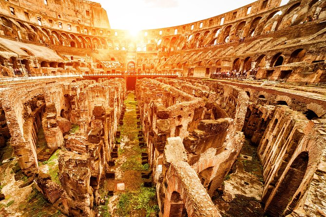 The Real Skip the line Colosseum Express Small Group - Only Tour -