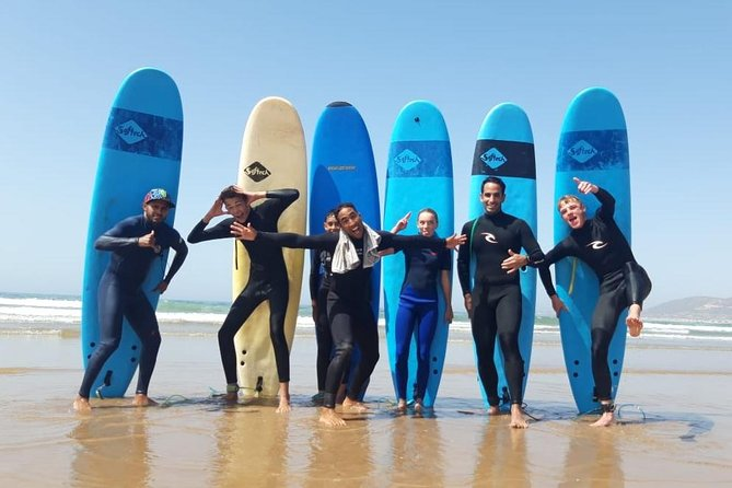 Surfing lesson at Agadir Beach photo 1