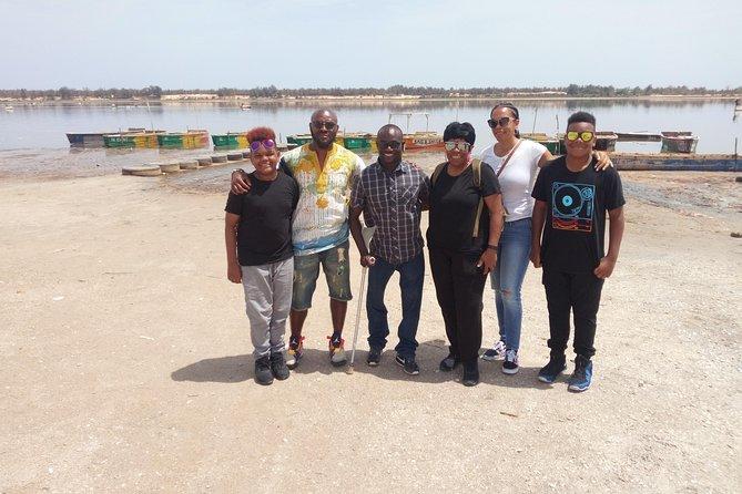 Goree island with pink lake visit full day, minimum 2 people.