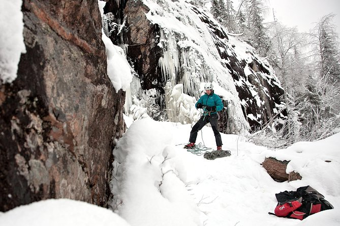 Ice Climbing Day in Korouoma Canyon – from Rovaniemi