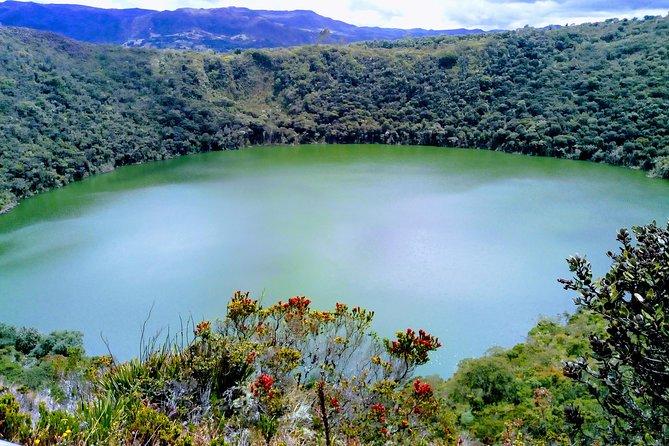 A trip to the origin of the Laguna Sagrada de Guatavita