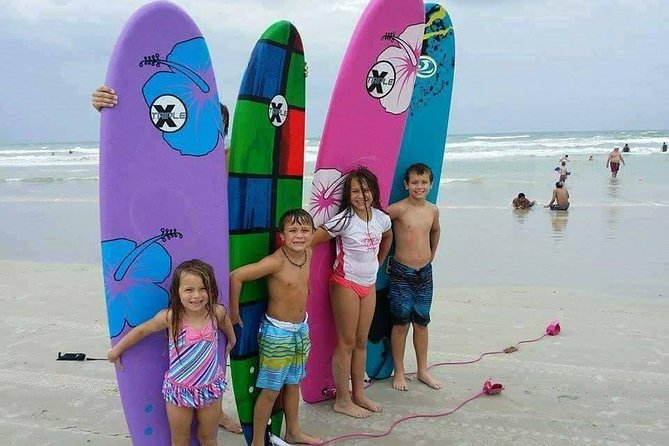 Learn to Surf with a Group Surfing Lesson and Professional Instructor