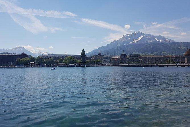 Luzern City Tour with Lake Cruise Private Tour