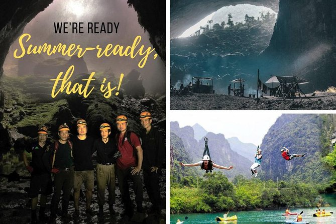 Phong Nha and Paradise Cave day trip