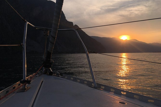 Sunset Sailing Experience on Lake Como, charming Aperitif on board.