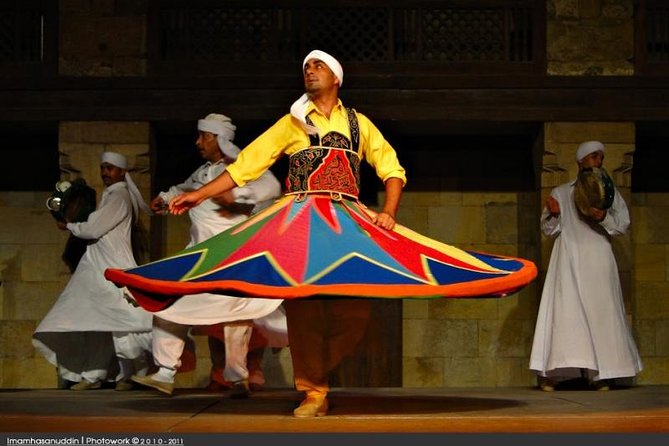 Tannoura Sufi Dancing and Khan Al Khalili bazaars in Cairo