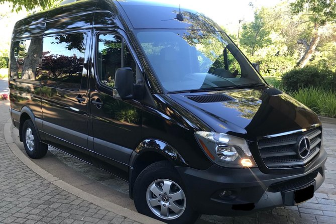 6 Hour Private Wine Napa & Sonoma Tours Mercedes-Benz Sprinter Passengers Van