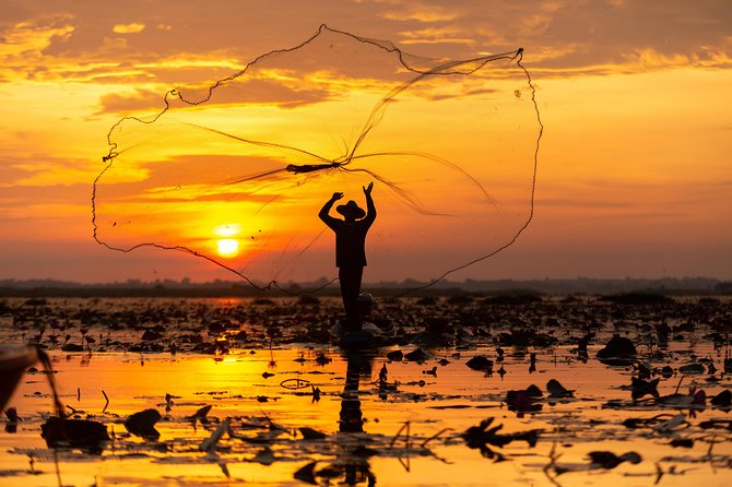 4-Day Classic Angkor Wat with Tonle Sap Lake with Private Transfer
