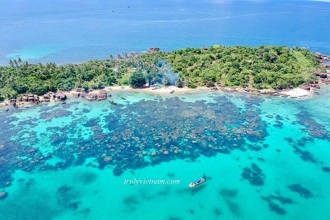 A private tour with Cable car & Boat trip to An Thoi islands