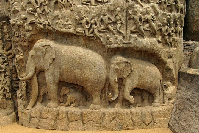 Viagem de Mahabalipuram com curadoria do arqueólogo
