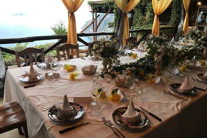 Amalfi Coast tour, explore a treasure chest of gems + farm to table lunch