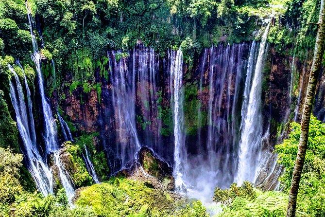 Tumpak Sewu Waterfall, Mount Bromo and Ijen Crater Tour in 4 Days